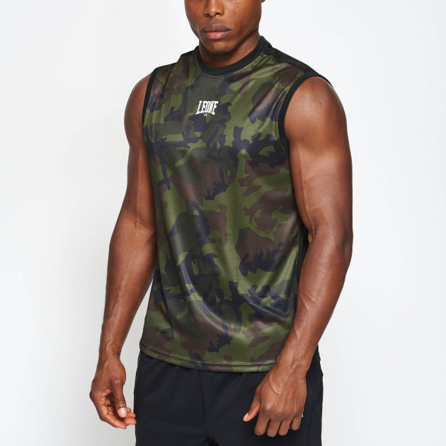 Camo sleeveless tshirt
